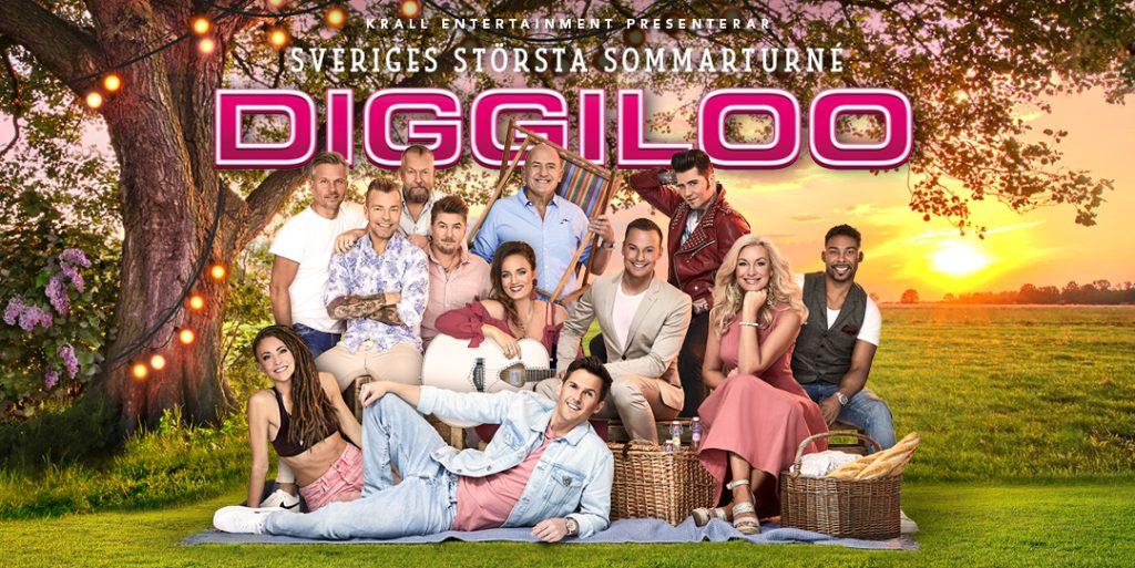 Förhäng hos oss innan Diggiloo-konserten i Slottsparken!