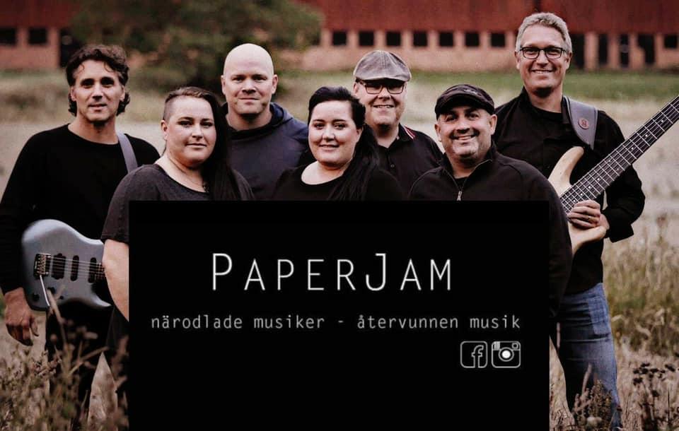 Paper Jam spelar hos oss, kom och njut av bra musik och härlig stämning!