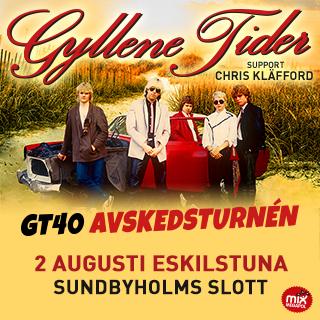 Förhäng hos oss innan Gyllene Tider-konserten i Slottsparken!